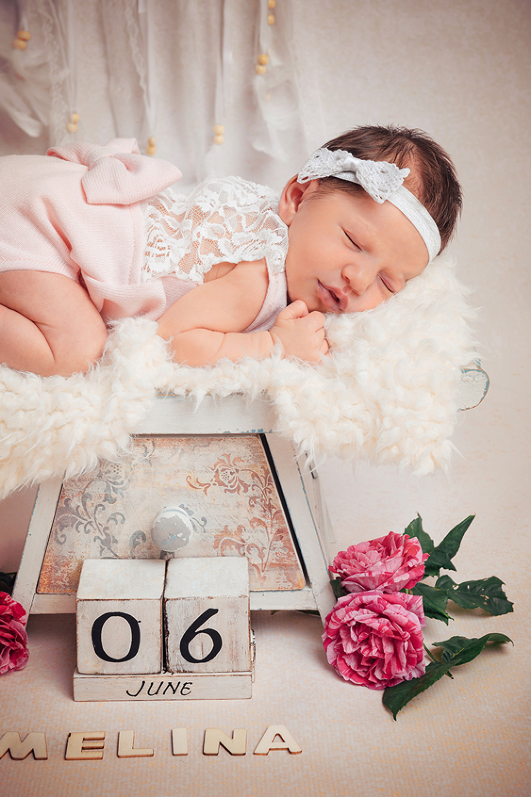 Baby Fotoshooting Mädchen Kassel