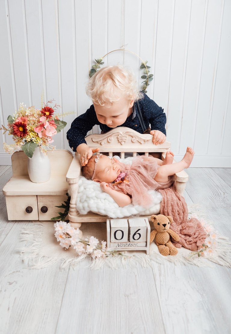 Geschwisterfotos und Babyfotoshooting kassel